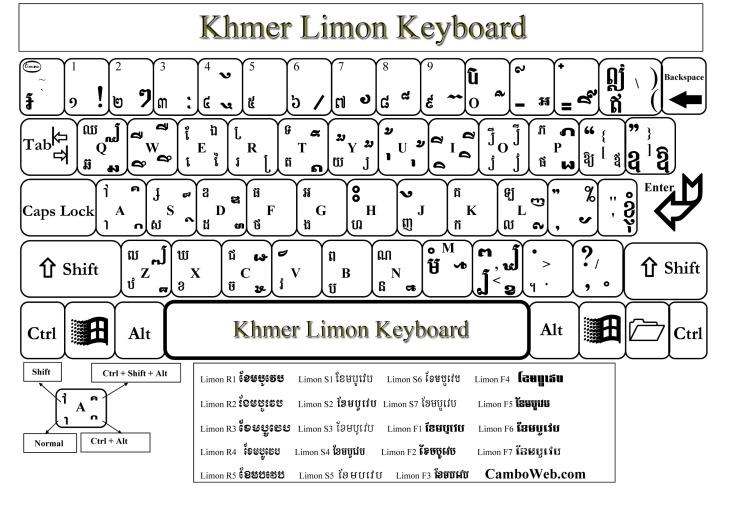 Limon Font Khmer - yastrongwind